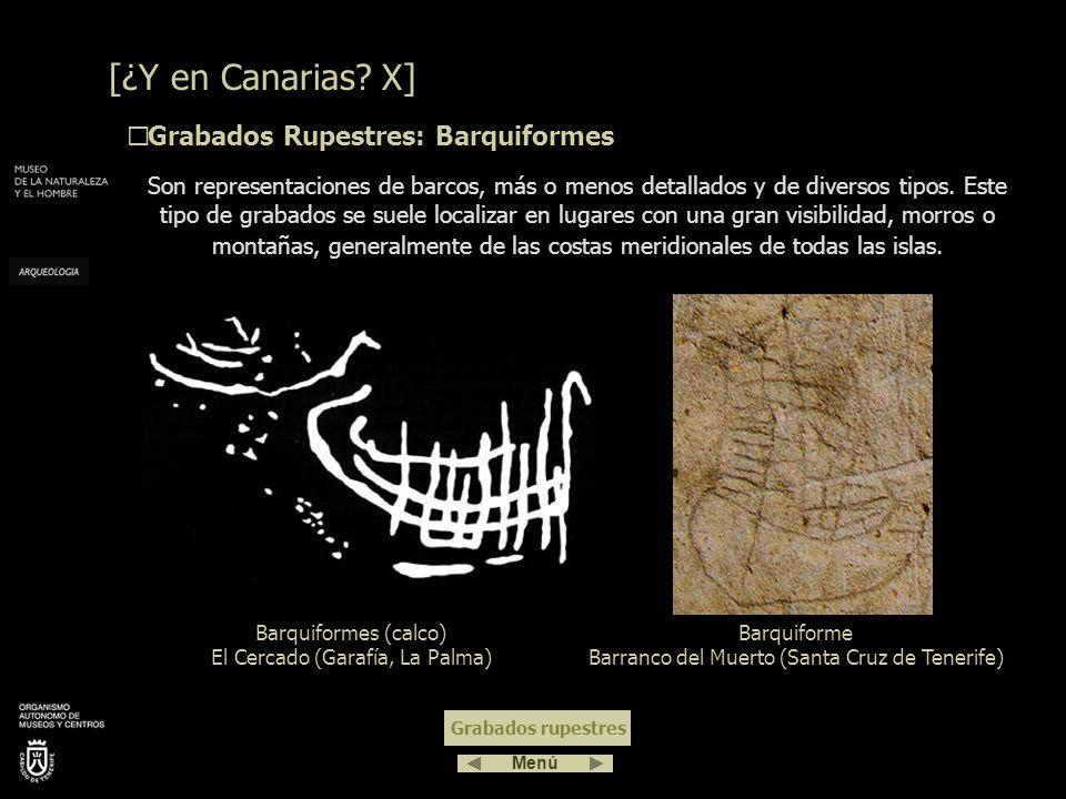 [¿Y en Canarias X] Grabados Rupestres: Barquiformes